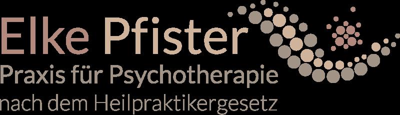 Logo Elke Pfister Praxis für Psychotherapie nach dem Heilpraktikergesetz